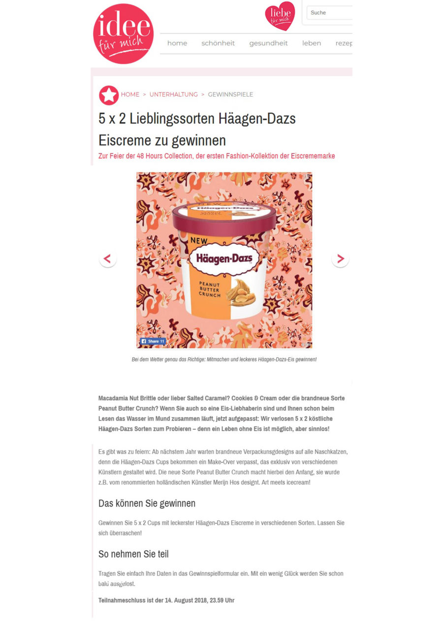 Häagen Dazs Style And Brands