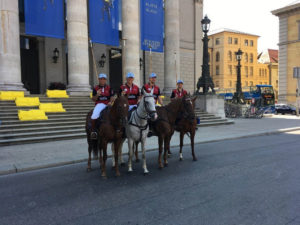 German Polo Tour am Odeonsplatz